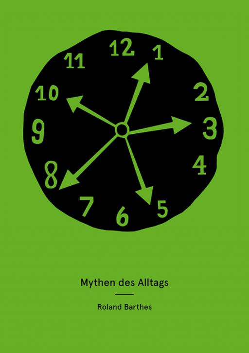 Jens Mittelsdorf - Büro für Gestaltung Mythen des Alltags → Buchcover