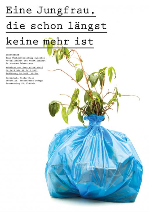 Designbüro Mittelsdorf Plakate (Sammlung)  → Grafikdesign, Typografie, grafische Formen
