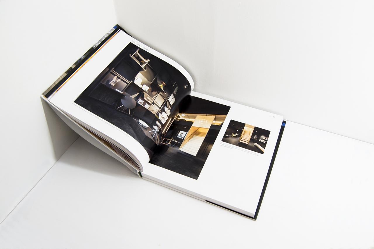 Designbüro Mittelsdorf Store Book 2016 → Editorial Design, Buchgestaltung