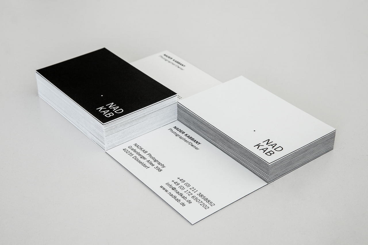Jens Mittelsdorf Büro für Gestaltung NADKAB Photography → Corporate Design, Logo, Visitenkarten