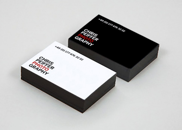 Jens Mittelsdorf Büro für Gestaltung Chris Peiffer Photography → Corporate Design, Logo, Visitenkarten