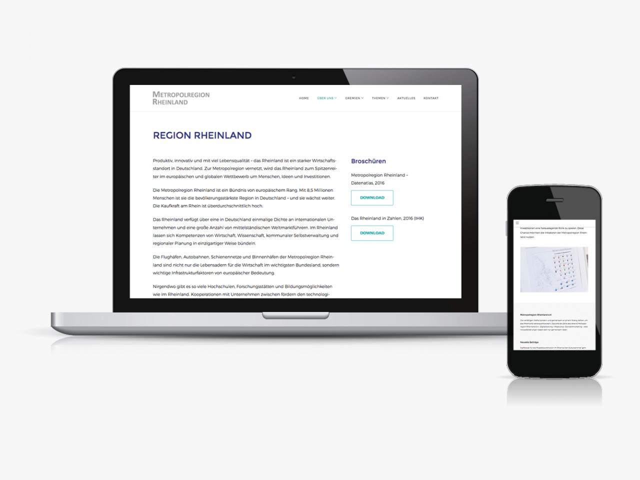 Designbüro Mittelsdorf Metropolregion Rheinland → Webdesign, Grafikdesign