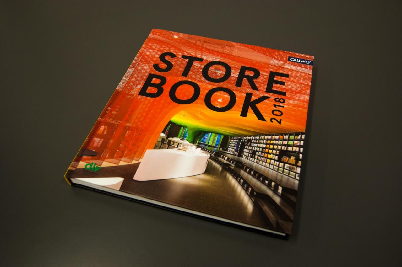 Jens Mittelsdorf Büro für Gestaltung Store Book 2018 → Editorial Design, Buchgestaltung