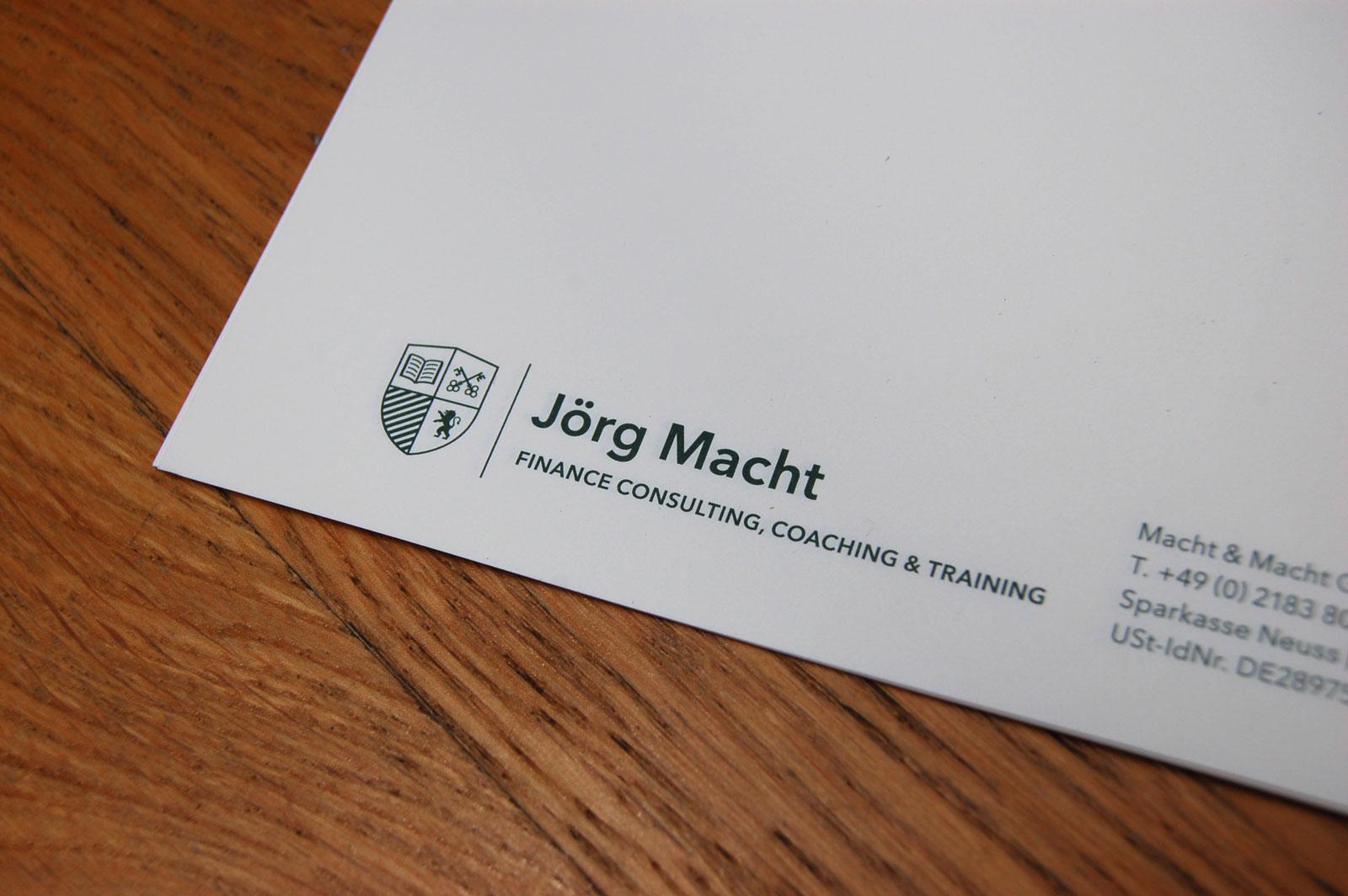Designbüro Mittelsdorf Jörg Macht → Corporate Design, Wappen, Logo, Geschäftsausstattung