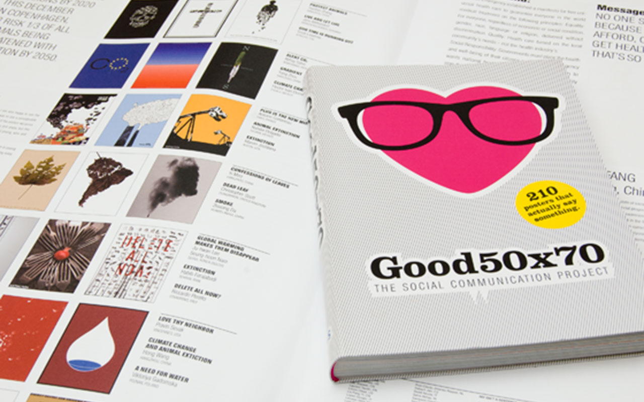 Designbüro Mittelsdorf Good 50×90 – The social communication project → Publikation, Plakat