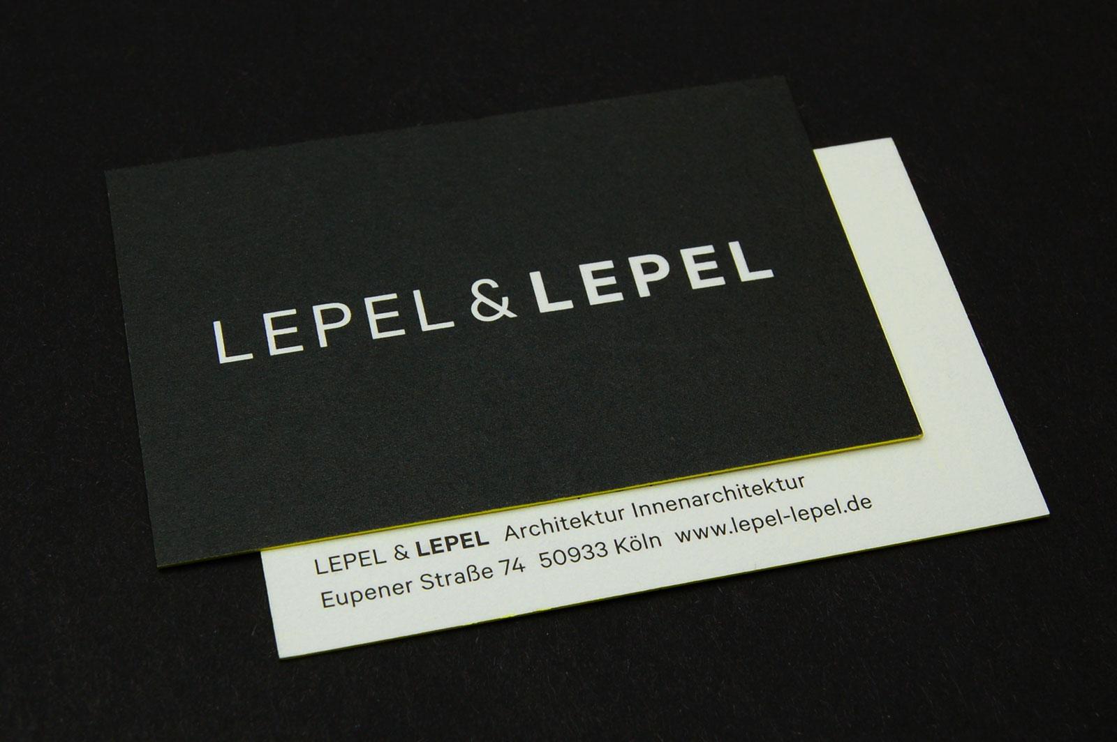 Designbüro Mittelsdorf Lepel & Lepel → Corporate Design, Geschäftspapiere, Redesign